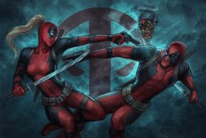 Deadpools by jasric