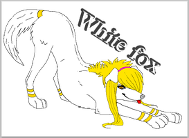 (2)White fox by 777whiteDRAGON