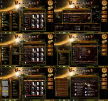Yellow Glass Copper Windows 7 Themes by tono3022