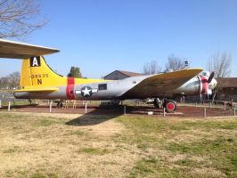 B-17 Side View by Jetster1