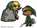 Two Faces of Link by paisley
