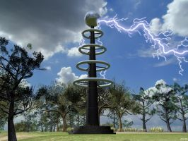 Tesla Coil by Aircraftkiller