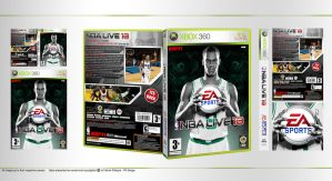 NBA Live 13 Cover Design by pgilladdy