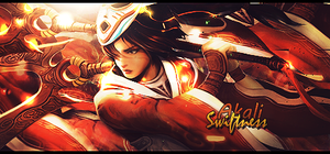 Akali - Swiftness by Stealthy4u