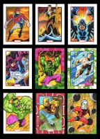More Marvel 70th cards by Sonion
