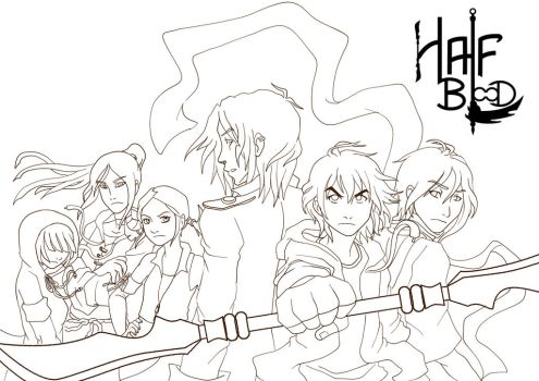 Half Blood - Let's fight ! 1 by Capsidia-Corner