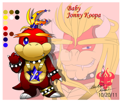 Baby Jonny Koopa ref by Bowser2Queen