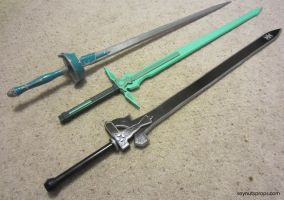 SAO Swords by Soynuts