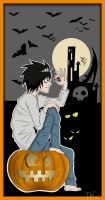 Death note - Happy Halloween by TheHeavenCafe