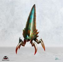 Concept Alien Insect by SquashAndSketch