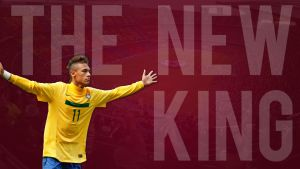 Neymar - The New King by Cazuar