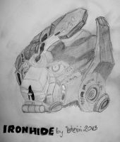 Ironhide portrait by isterini