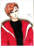Gaara - Winter outfit by LinhBeaver