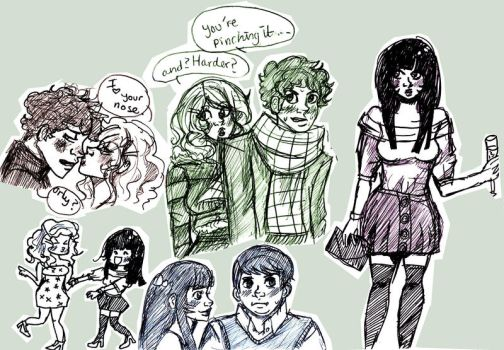 more south park doodles by superlucky13