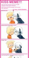 KISS MEME with Vin x Zero by befummer
