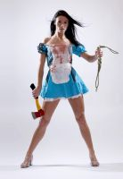 Dani L Bloody Alice 1a by jagged-eye