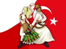 Poland and Turkey by Refielle