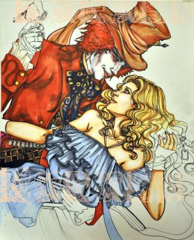 Mad Hatter and Alice preview 2 by kara-lija