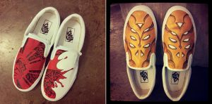 VANS for charity by Iantoy