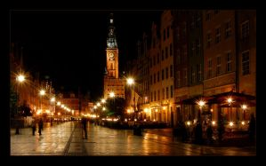 Gdansk by night.... by PawelJG