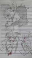 sketch- Spring trap.You.Cant. by karinchan97
