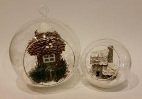 Winter Globes by ninja2of8