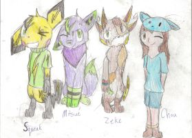 More of Mah OCS by SparkyChan23