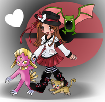 PKMN: Beryllium + Team Shiny by Frogberri