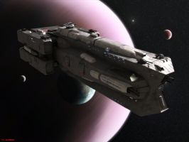 Damocles Class Battlecruiser by ILJackson
