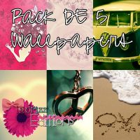 Pack de Wallpapers =) by Laurizz11