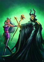 Maleficent Charmcaster by cric