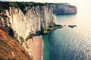 Etretat by juice-teen
