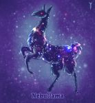 Daily Llama Project - Nebullama by TrollGirl