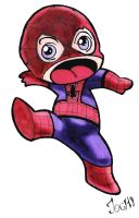 Small Spiderman by Jochi-Pochi