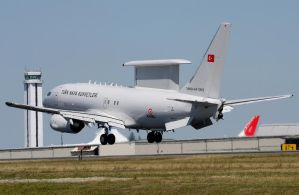 Turkish AF Boeing E-737 Landing 2 by shelbs2
