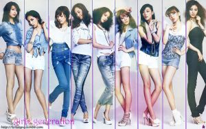 SNSD - casual by Sweetkrystyna