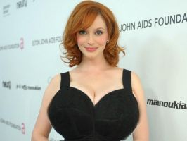 Christina Hendricks Breast expansion by N-11OrdoSkirata