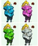 excess suit samus by TheAmericanDream