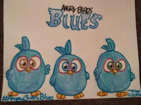 ANGRY BIRDS BLUES! New Hatchlings Cartoon Series! by ANGRYBIRDSTIFF