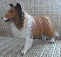New Rough Collie Plastic Toy!!! by TopazBeats