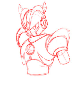 A Robot Master WIP by DariusXII