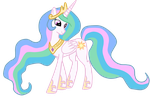 Celestia. Just Celestia. by Pinkiemina