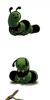 The Saddest Caterpillar by Tanken