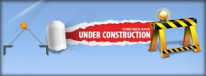 Under Construction Facebook Cover Design (PSD) by zaheerajk