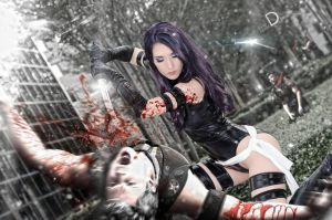 Uncanny X-Force Psylocke by OJeniferAnn