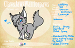 Wolfsky Ref Sheet by katlings