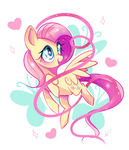 Fluttershy: Pretty in Ribbons by Ipun