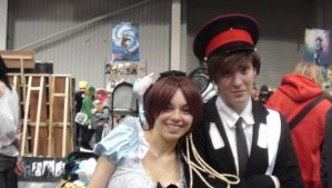 MCM Expo 2012-Romano and Italy by xCrazyWonderlandx