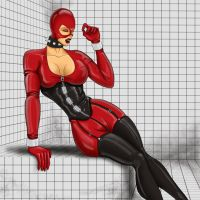 Rubber Girl 1 by The-Evil-Dr-Jonas