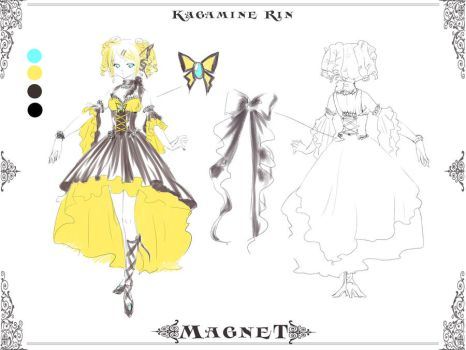 Magnet design Rin by kaminary-san